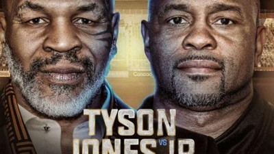 Jadwal Siaran Langsung Laga Ekshibisi Mike Tyson vs Roy Jones Jr